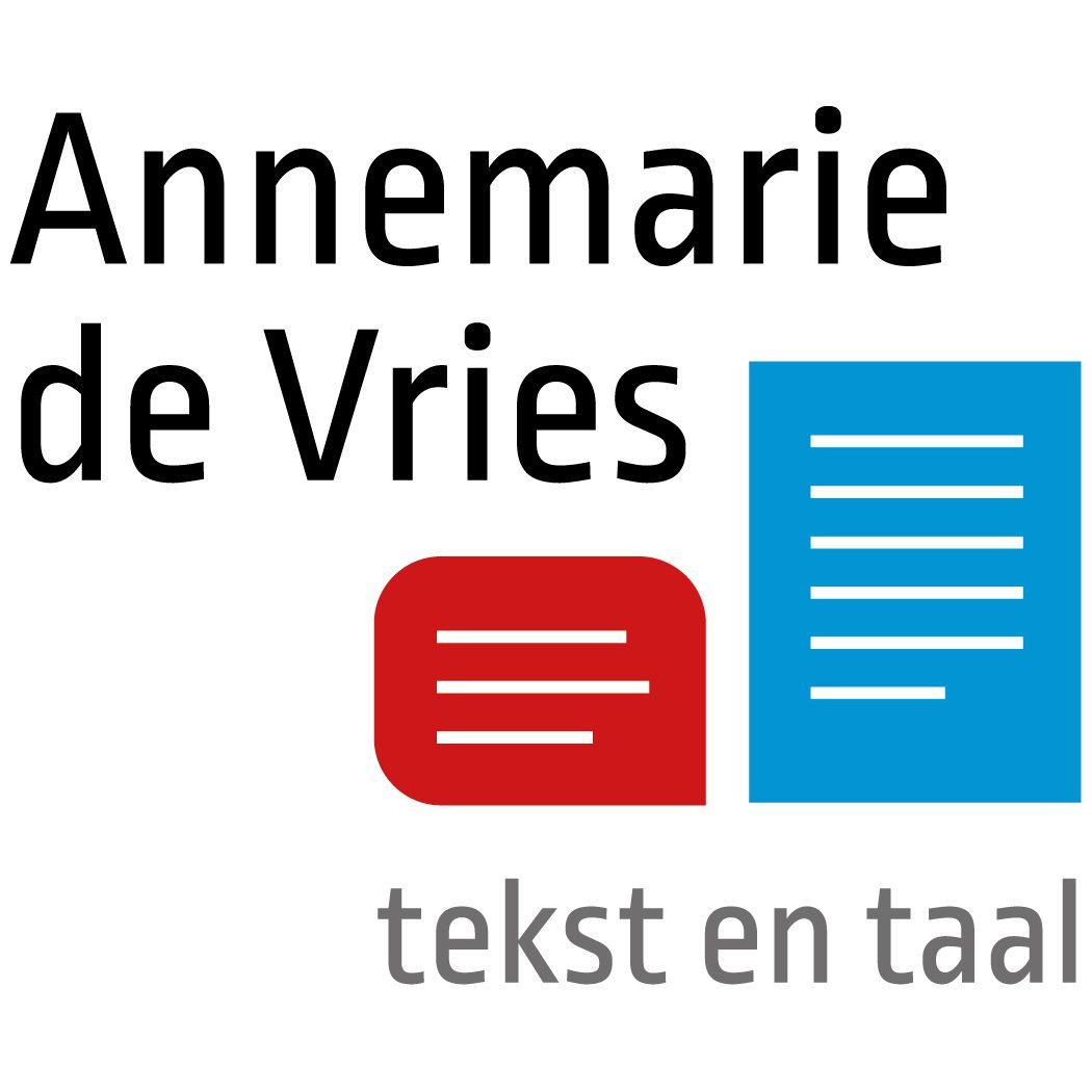 Annemarie de Vries Tekst en Taal